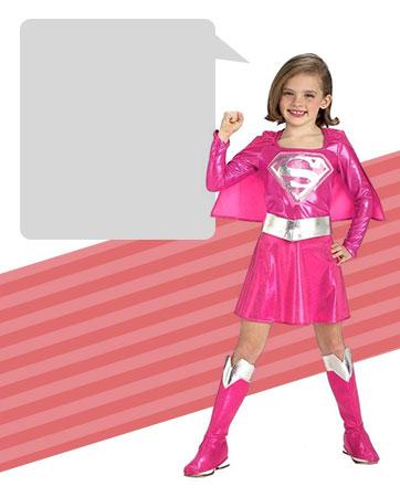 Pink Supergirl Bio