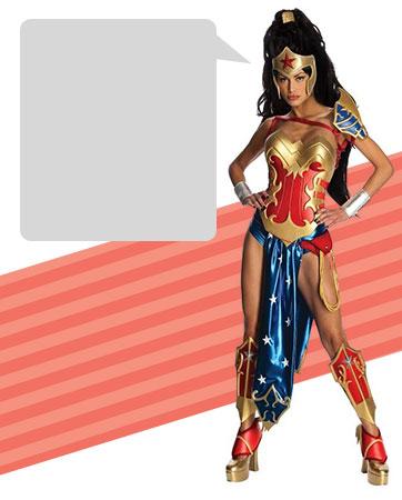 Anime Wonder Woman bios
