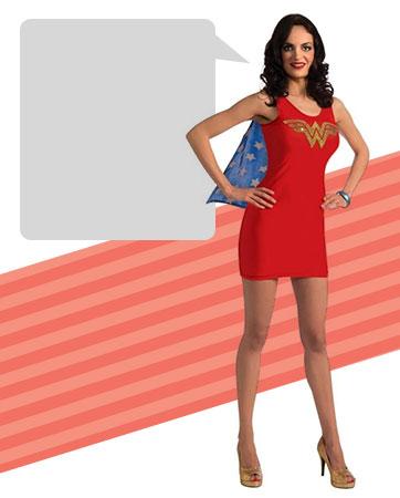 Trendy Wonder Woman Bio