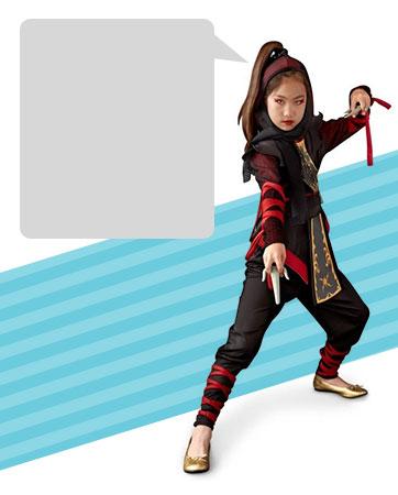 Dragon Ninja Bio