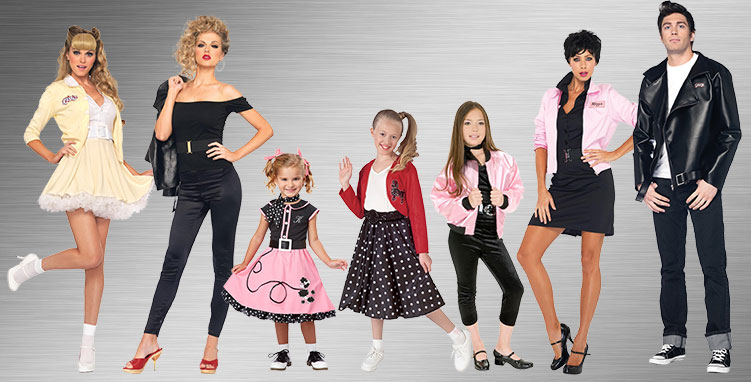 1950s  Group Costumes