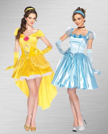 Belle & Cinderella Costume
