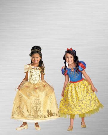 Belle & Snow White Costume