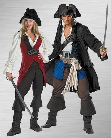 Jack Sparrow & Elizabeth Swann Costumes