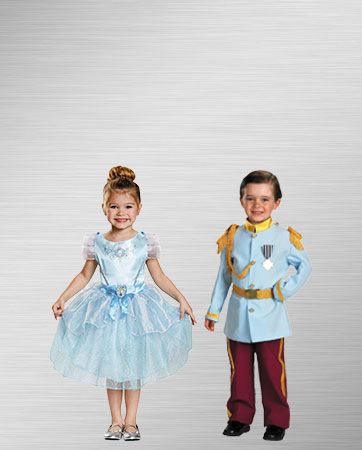 Classic Kids Prince Charming & Cinderella