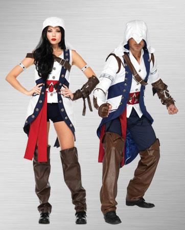 Female & Male Connor Costume