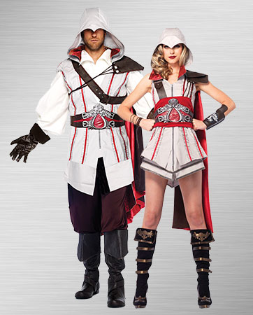 Men's & Ladies' Ezio costumes