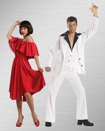 Saturday Night Fever Couples Costume
