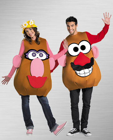 Mr. & Mrs. Potato Head costumes