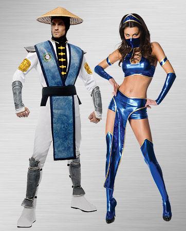 Raiden & Kitana