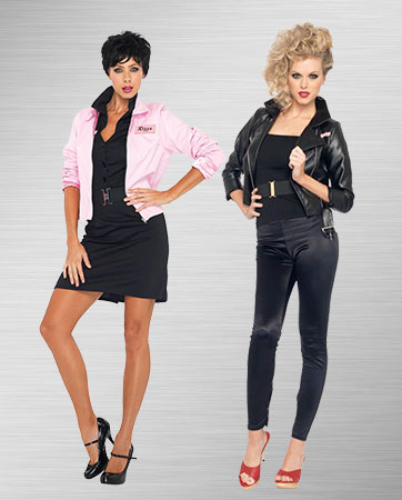 Sandy & Pink Lady costumes
