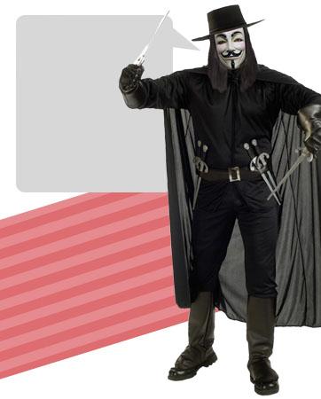 V (Hero) bios