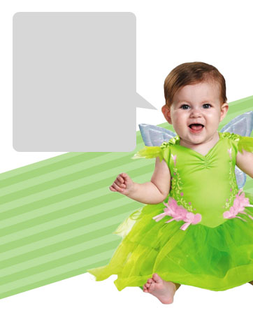 Baby Tinkerbell bios