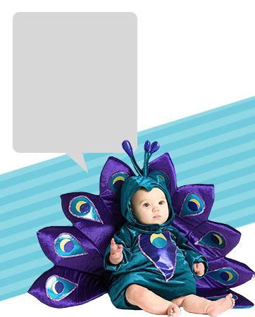 Baby Peacock Bio