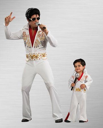 Elvis Adult and Elvis Child