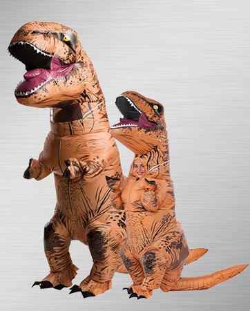 Adult T-Rex & Kids T-Rex