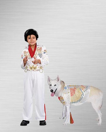 Elvis Child and Elvis Dog