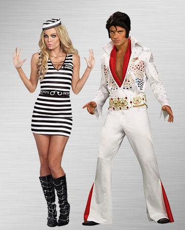 Elvis and Jailhouse Rock Woman Prisoner Costume