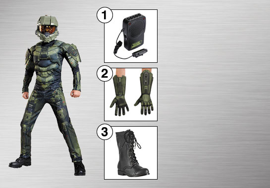 Master Chief Enhance Your Style