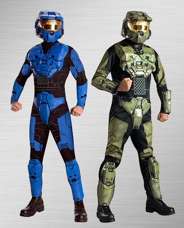 Master Chief & Blue Spartan