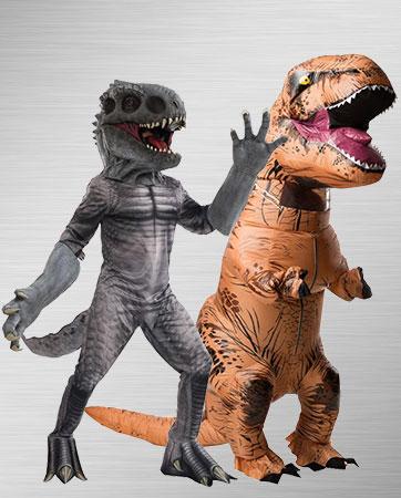 T-Rex & Indominus Rex