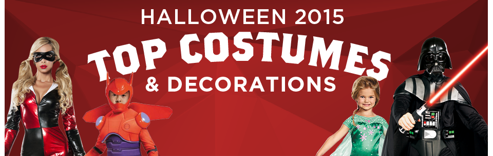 Top Costumes and Decorations for Halloween 2015