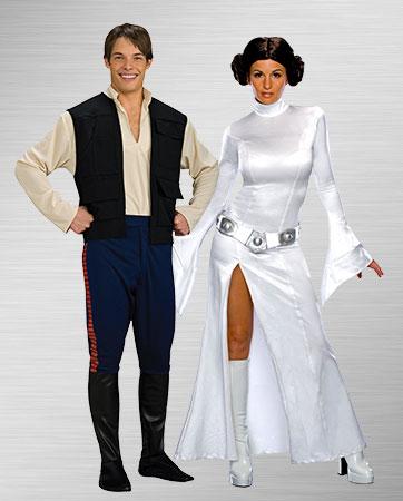 Princess Leia & Han Solo