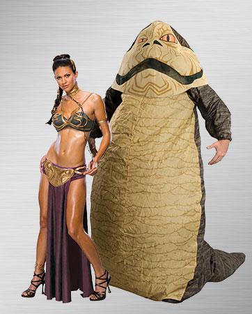 Slave Leia & Jabba Costume