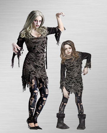 Living Dead Mom and Daughter
