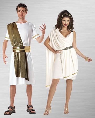 Toga Couple Costume