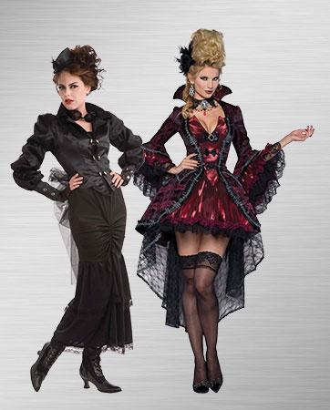 Victorian Steampunk Halloween Costumes | BuyCostumes.com
