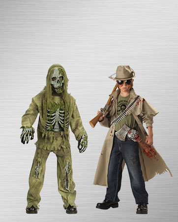 Zombie and Zombie Hunter
