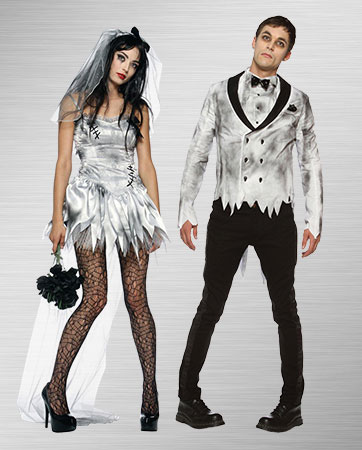 Zombie Bride & Zombie Groom