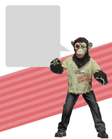 Zombie Chimp Bio