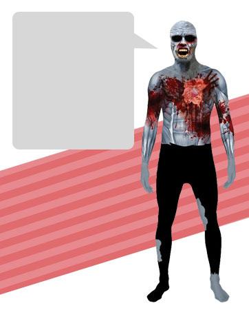 Zombie Morphsuit Bio