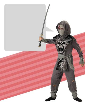 Ninja Zombie Bio