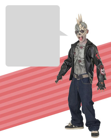 Punk Zombie Bio