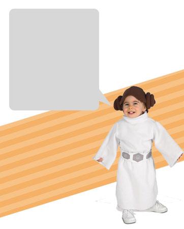 Princess Leia Toddler Bio