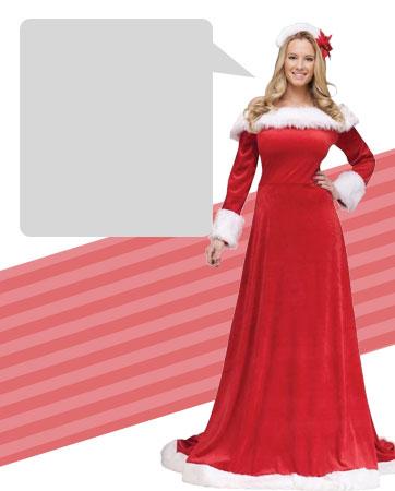 Elegant Santa Dress Bio