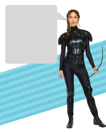 Mockingjay Katniss bios