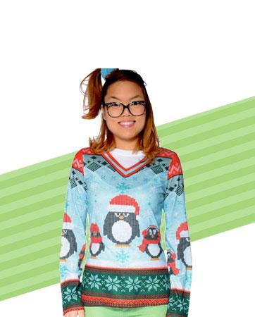 Penquin Sweater  Bio