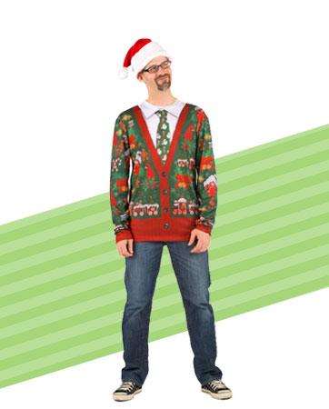 Ugly Cardigan Sweater Bio