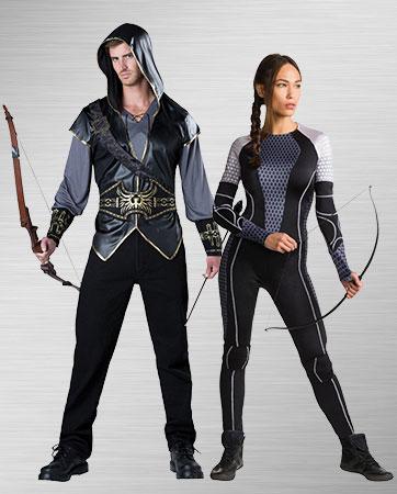 Hooded Huntsman & Katniss