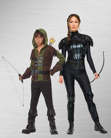 Katniss and Robin Hood