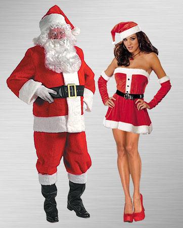 Mr. & Mrs. Claus