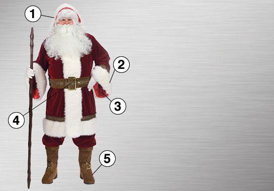 Old Time Santa Suit