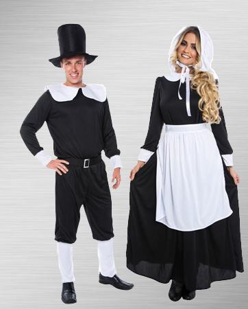 Pilgrim Man & Woman