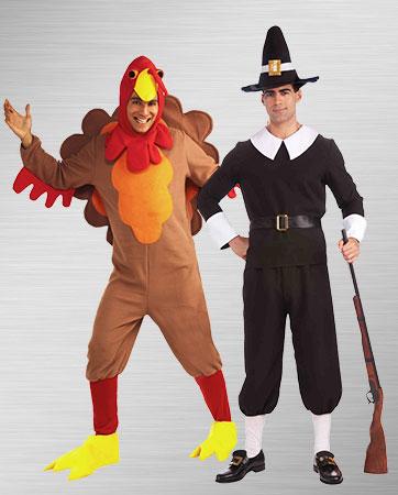 Turkey & Pilgrim Man