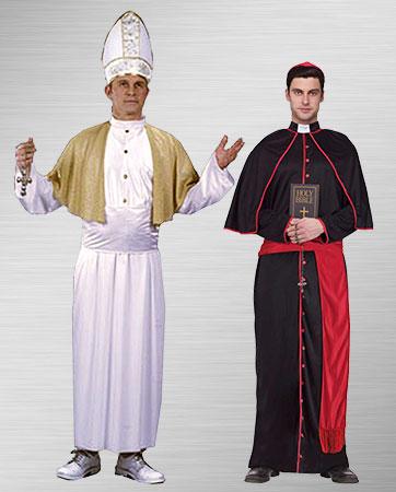 Pope & Cardinal