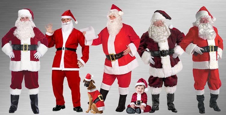 Santa Claus Costume Ideas